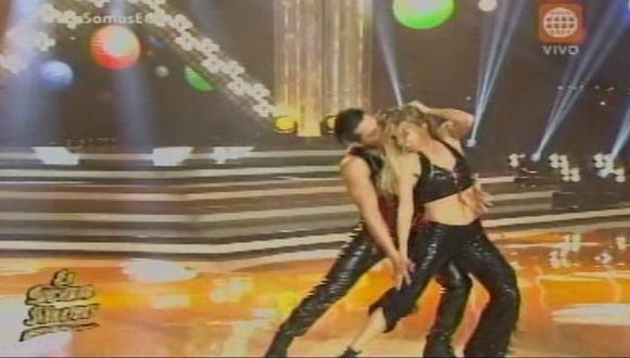 Fiorella Cayo se quedó con los mejores pasos de 'El gran show'. (América Televisión)