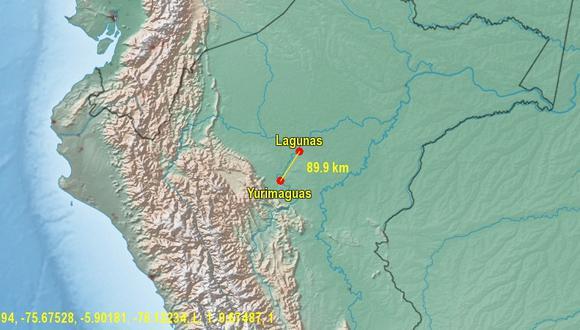 Lagunas es uno de los seis distritos de  la provincia del Alto Amazonas.