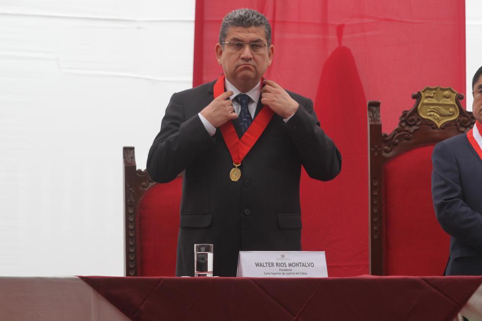 Walter Ríos pidió un favor para su esposa que trabaja en el Ministerio de Justicia. (USI)