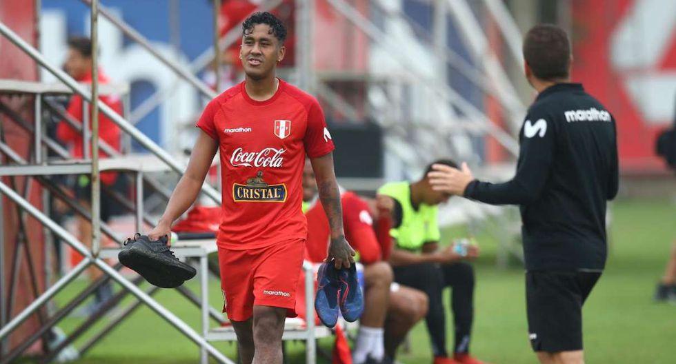 Renato Tapia se unió a los entrenamientos de la selección peruana. (Foto: Fernando Sangama - GEC)