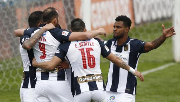 Alianza Lima aseguró su cupo para la Copa Libertadores tras vencer a Melgar. (Foto: Violeta Ayasta / GEC)