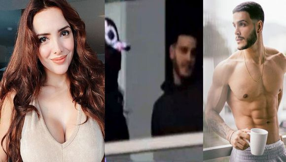 Rosángela Espinoza y Mario Irivarren fueron captados juntos. (Instagram/Magaly Tv. La firme)