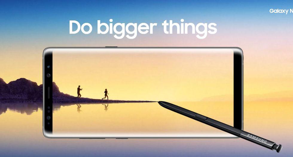 Galaxy Note 8 (Samsung)