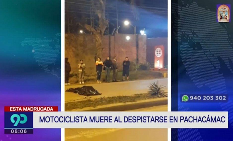 El accidente ocurrió la noche del lunes en la Av. Manuel Valle. (Captura: Latina)