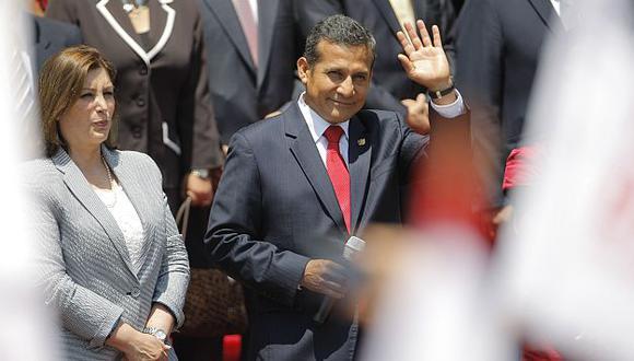 Ollanta Humala explicará ante el Pleno del Congreso alcances del fallo de La Haya. (Luis Gonzales)
