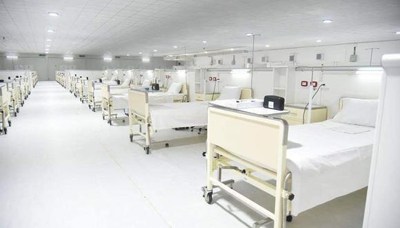 La Defensoría del Pueblo de Loreto mencionó que el Minsa envío implementos para que el nosocomio pueda instalar 150 camas hospitalarias y 25 camas UCI. Sin embargo estas no cuentan con ventiladores mecánicos y no pueden operar (Foto: HRL FSAI)