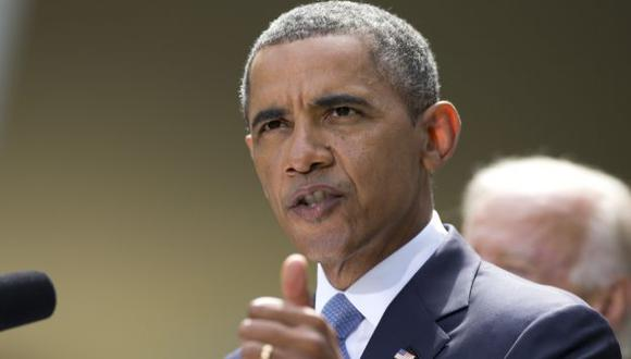 Barack Obama en la Casa Blanca. (AP)