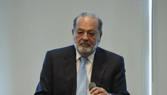 """Carlos Slim está """"hospitalizado solo para monitoreo y está muy bien de salud"""", informó el portavoz de la familia.  (Foto: ALFREDO ESTRELLA / AFP)"""