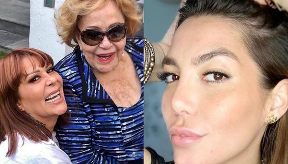 A través de un comunicado de prensa difundido por Gustavo de Anda, su coordinador de prensa, la icónica actriz habló sobre la situación que afecta a su familia y le envió un mensaje a su nieta. (Instagram: @silvia.pinal.h).