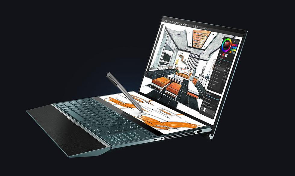 Nerdgasmo: Probé la nueva Asus Zenbook Pro Duo, una laptop todo en uno que se adelantó a la época. (Difusión)