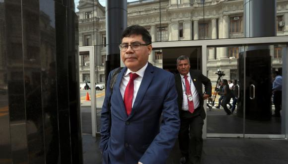 Germán Juárez investigará en adelante al exmandatario Martín Vizcarra. (Foto: Rolly Reyna)