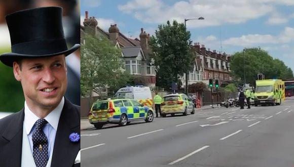 """William y Kate Middleton están """"profundamente preocupados y entristecidos"""" por el accidente, informó el palacio de Kensington. (Foto: AFP / Captura de video)"""