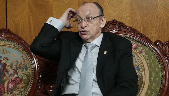 José Peláez Bardales es acusado de no colaborar con investigación a clan Sánchez Paredes. (Mario Zapata)