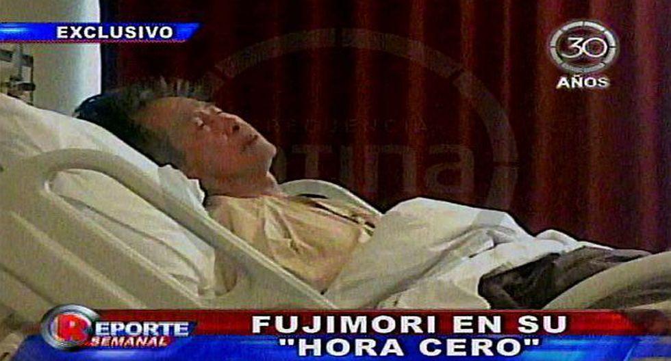 Fue sometido a exámenes. (Imagen de TV)
