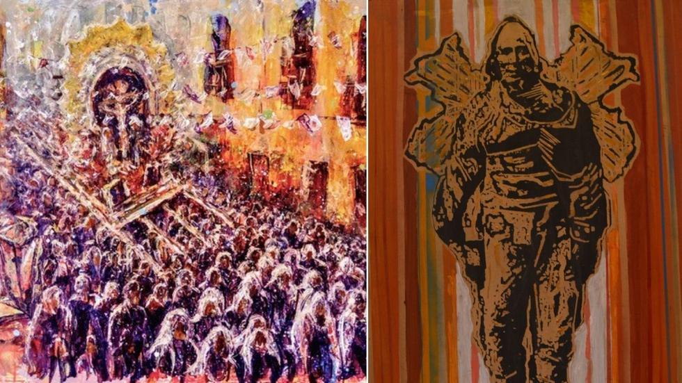 Diferentes artistas presentan la exposición '¿Manifiesto qué soy Lima?' que tiene como protagonista el Bicentenario del Perú