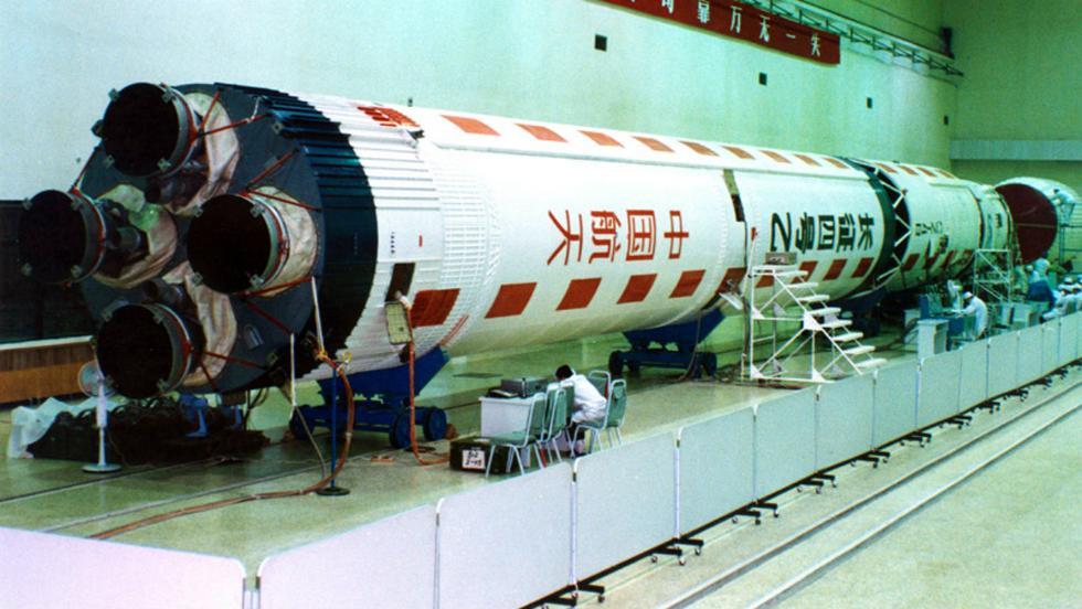 Al estilo de SpaceX, China empieza el desarrollo de cohetes espaciales reutilizables. (EFE)