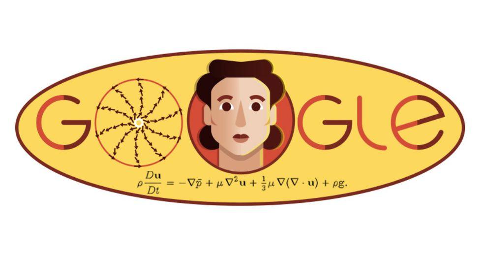 El doodle de hoy recuerda a Olga Ladyzhenskaya. (Foto: Google)