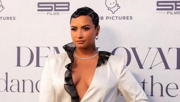 """""""Me enorgullece hacerles saber que me identifico como no binario y que oficialmente cambiaré mis pronombres a 'ellos' en el futuro"""", dijo Demi Lovato. (Foto: Demi Lovato/ Instagram)"""