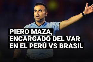 Piero Maza, encargado del VAR en el Perú vs Brasil, y el motivo por el que estuvo inactivo en Chile