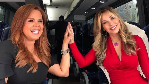 """María Celeste Arrarás y Myrka Dellanos conducirán un especial de """"Al Rojo Vivo"""" sobre coronavirus. (Foto: Instagram)"""