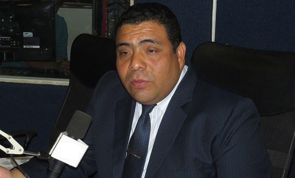 Percy Castillo, funcionario de la Defensoría del Pueblo.