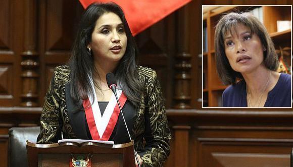 Ana María Solórzano condenó amenazas de muerte a Cecilia Tait. (USI)