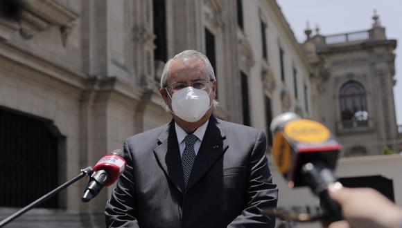 Allan Wagner juró como ministro de Relaciones Exteriores el último lunes 15. (Foto: GEC)
