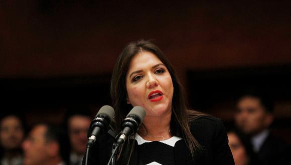 Lenín Moreno exime de sus funciones a vicepresidenta María Alejandra Vicuña investigada por corrupción. (Foto: Getty)