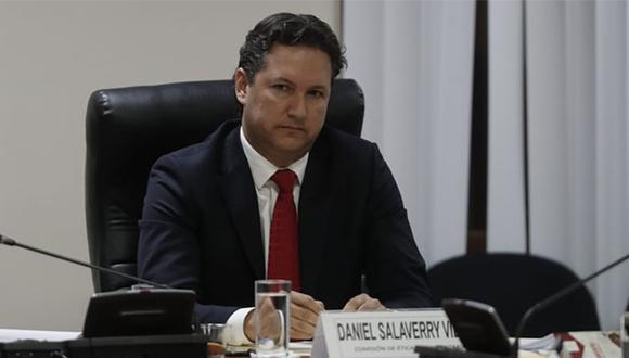 Daniel Salaverry se presentó ante la Comisión de Ética para brindar sus descargos ante denuncia por informes falsos. (Foto: Renzo Salazar / GEC)
