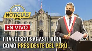 Francisco Sagasti asume como Presidente del Perú