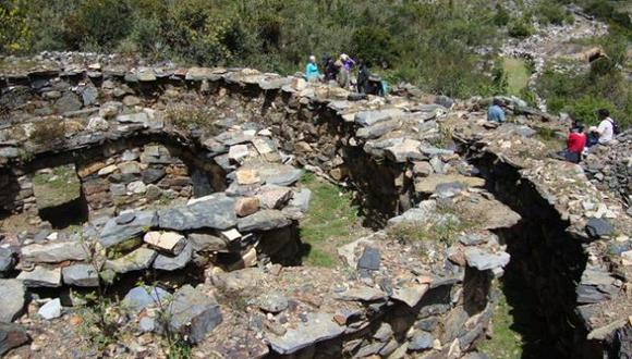 HALLAZGO. Nuevos vestigios de hace 1,300 años fueron encontrados en el Callejón de Conchucos. (Magno Nava)