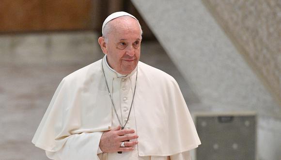 El papa Francisco recibirá en el Vaticano al presidente de Estados Unidos a finales de octubre. (Foto: Tiziana FABI / AFP)
