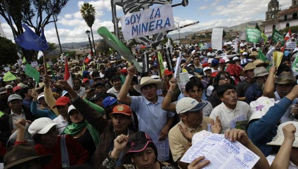 Malversación. Gregorio Santos financió las marchas contra la minería. (Rafael Cornejo)