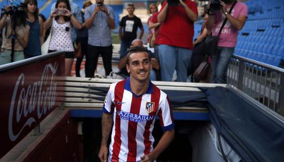 Antoine Griezmann es el nuevo jugador del Atlético de Madrid. (Reuters)
