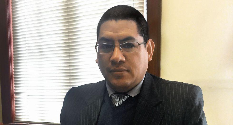 Reynaldo Abia Arrieta. Fiscal anticorrupción (USI)