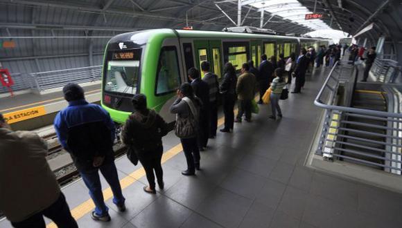 Las estaciones del Metro de Lima tienen acceso restringido por la pandemia del COVID-19 (Foto: GEC)