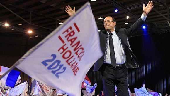"""Hollande se autoproclamó como el artífice de """"la unión por el cambio"""". (Reuters)"""