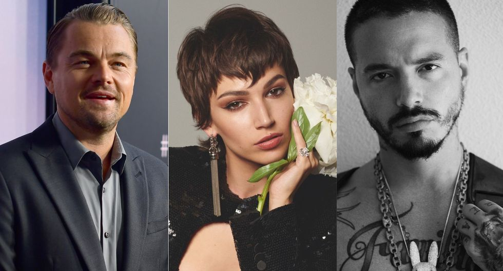 Varias celebridades que se han unido a la corriente mundial que se ha vuelto viral en las redes sociales (Foto: AFP/@jbalvin/@ursulolita)