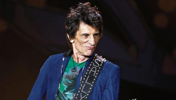 The Rolling Stones: Guitarrista Ronnie Wood venció el cáncer de pulmón. (USI)