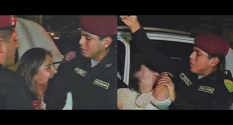 La mujer que agredió a policía continuará su proceso en libertad. (Fuente: Latina)