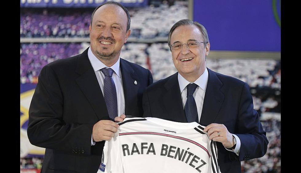 A sus 55 años, Rafa Benítez cumplió hoy el mayor sueño de su carrera al firmar por tres temporadas con el Real Madrid. (EFE)