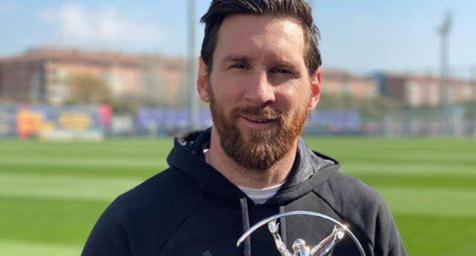 Messi fue considerado mejor deportista del 2019 junto al británico Lewis Hamilton, piloto de Fórmula 1. (Foto: Lionel Messi)