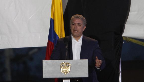 """Iván Duque, presidente de Colombia, se mostró dispuesto a colaborar para """"proteger el pulmón del mundo"""". (Foto: EFE)"""