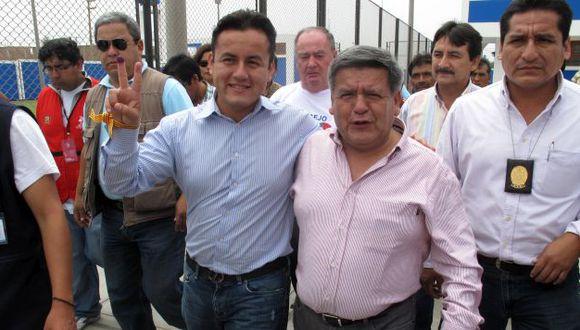 Richard Acuña defiende a su padre. (Perú21)
