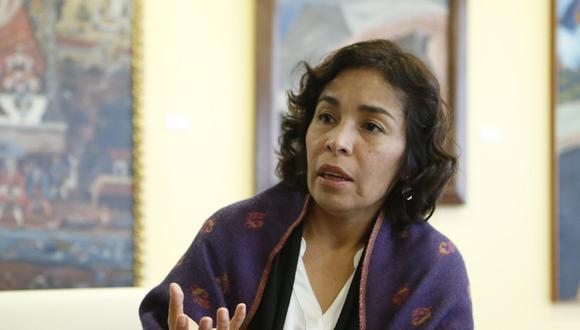 La ministra de Cultura, Patricia Balbuena, ha asegurado que no son condescendientes con la corrupción. (Foto: USI)