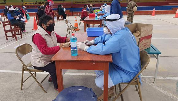 Moguegua: Operación Tayta llegó con 24 mil pruebas rápidas para detectar casos de COVID-19  (Foto: CC.FF.AA)