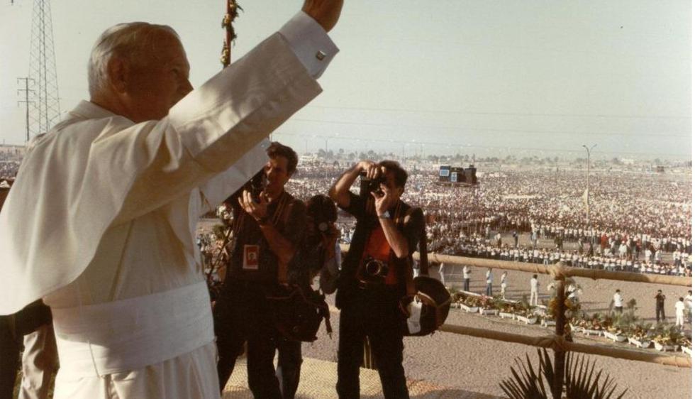 Juan Pablo II visitó el Perú en dos oportunidades: en 1985 y 1988. (Internet)