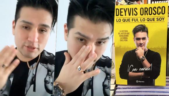 """""""Hay gente que solo conoce lo que ve afuera, pero no saben cómo se creó, lo que tuve que pasar para llegar a ser lo que soy"""", dijo el cantante de cumbia. (Instagram)"""