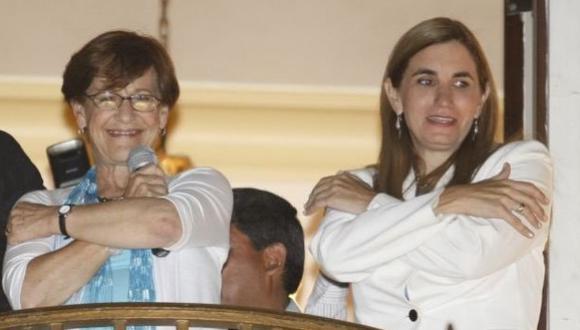 Townsend fue la vocera principal de lacampaña del No a la Revocatoria de la entonces alcaldesa Susana Villaránel 2013. (Foto: GEC)