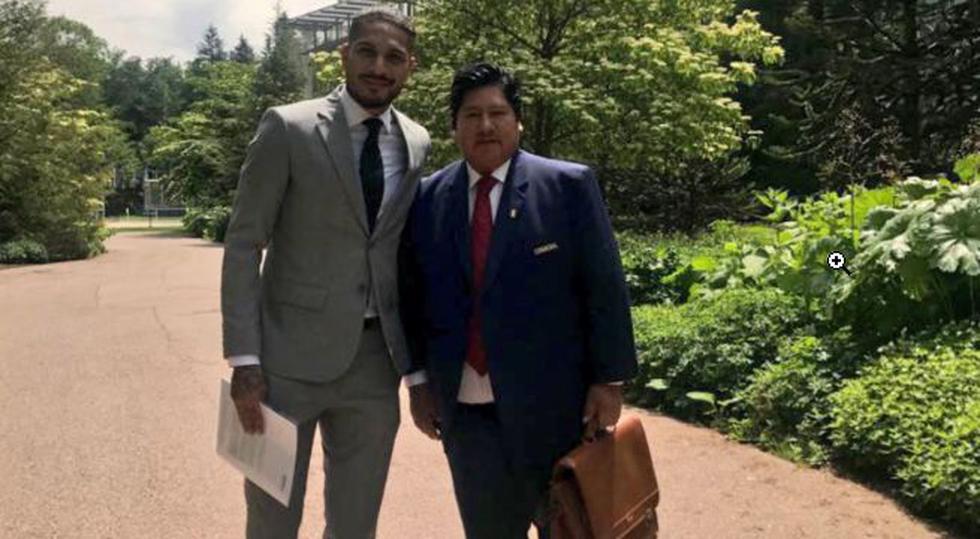 Paolo Guerrero viajó junto a Oviedo a Suiza con la finalidad de buscar una rebaja a la sanción que le permita jugar el Mundial Rusia 2018. (FPF)